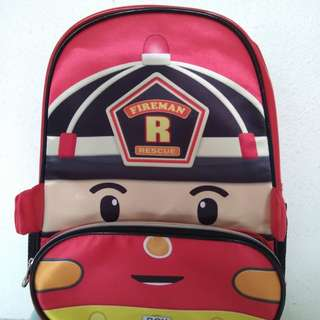 Poli kids school bag (Roy Fireman)