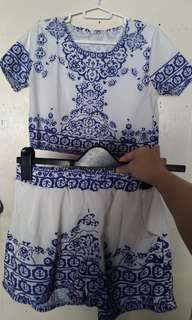 Blue and White Coordinate