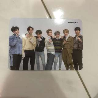 WTT Monsta X The Connect Group Photocard