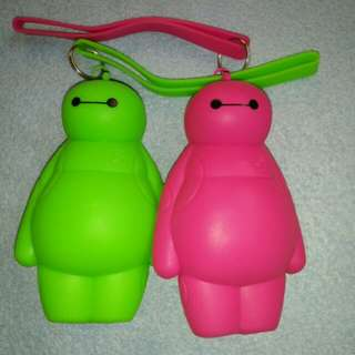 Baymax Jelly Coin Purse with wrist strap