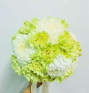 Fresh flowers hand bouquet/bunga tangan segar