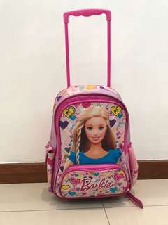 Preloved Barbie Kid Schoolbag