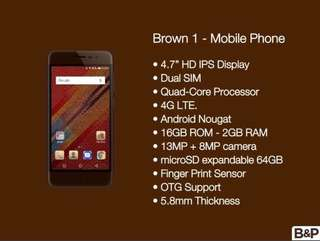 Brown 1 Phone