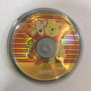 Winnie the Pooh theme CDR (Recordable) discs