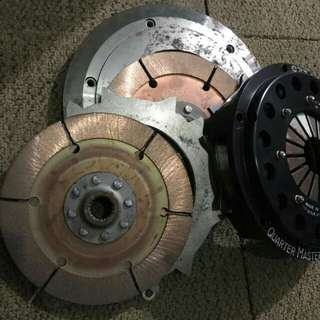 Clutch qm evo twin plate