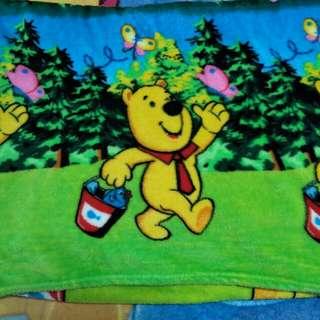 Pooh Bear fleece blanket