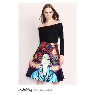 Top & 3D Skirt TERNO