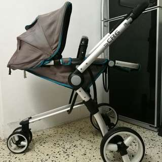 📣📣SCR 6 STROLLER WITH 3 WHEELS (grey)