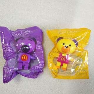 McDonald's 麥當勞 2010年 絕版 Bearbrick