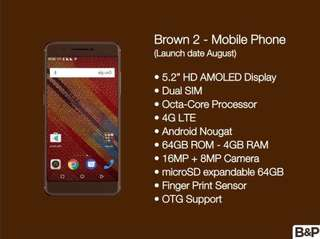 Brown 2 Phone