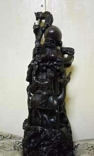 🚚 黑檀木壽翁