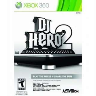 FREE!!!!!! DJ Hero 2 Disc for Xbox 360 #Blessing