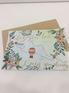 Customizable Handmade Cards