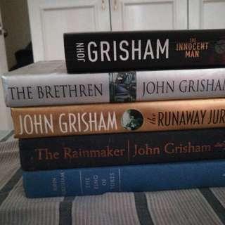 John Grisham Novels HB