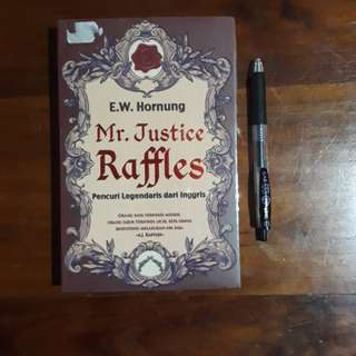Novel Mr. Justice Raffless (Indonesia)
