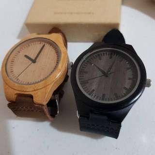 PreLoved JC Wooden Watches