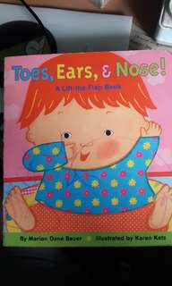 Toes, Ears & Nose Lift-the-flap book