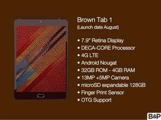 Brown Tab 1