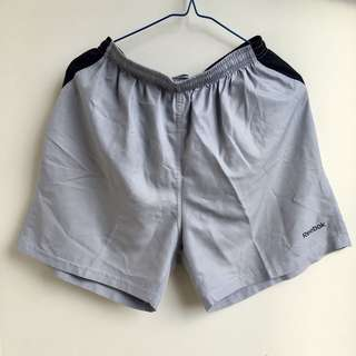 Celana Olahraga Pendek - Reebok Grey Shorts