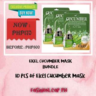 Ekel Cucumber Mask Bundle