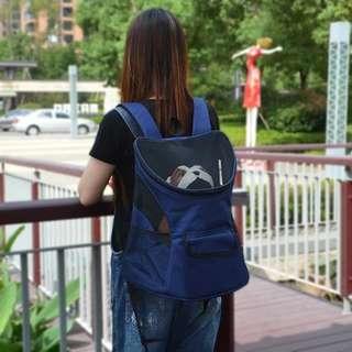 🚚 【預購】寵物雙肩包狗包包外出便攜包泰迪雙肩背包胸前狗包貓包外帶包