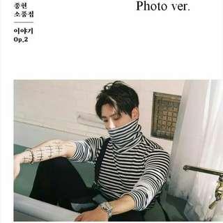 Jonghyun Story Op 2 album Pre-order