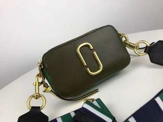 Marc Jacobs Snapshot Camera Bag - olive green