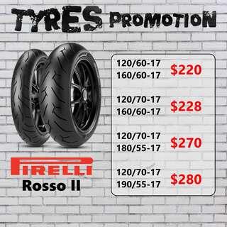 Pirelli Rosso 2 Promotion