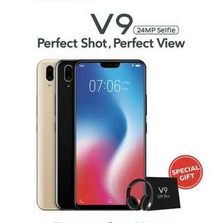 Vivo V9 | Free Earphone | cash dan kredit