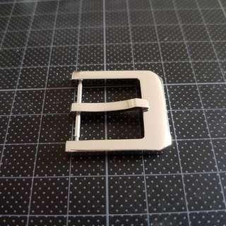 純銀錶扣(22mm)
