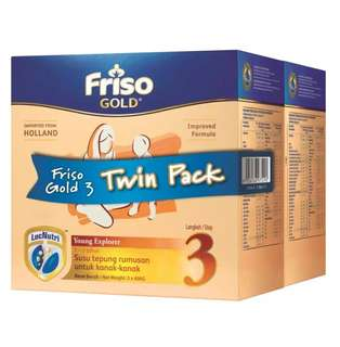 Friso Gold Step 3 (3x 600g)- twin pack