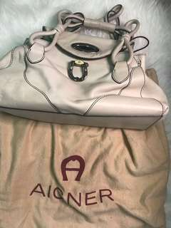Authentic Aigner Handbag