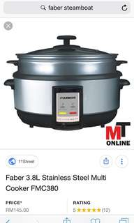 Steamboat multi cooker