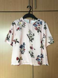 Light Pink Floral Top