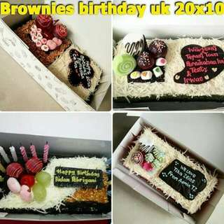 Brownies birthday