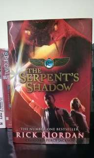 The Sherpent's Shadow (ENGLISH) by Rick Riordan