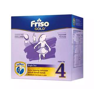 Friso Gold Step 4 ( 3 x 600g)