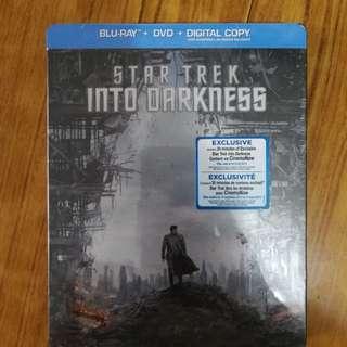 加版 STAR TREK INTO DARKNESS Blu Ray + DVD STEELBOOK 鐵盒