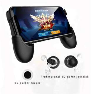 RK Game 6th Mobile Holder Gamepad BLACK