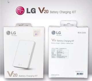 🚚 LG V20 原廠電池組 含電池+原廠座充 BCK5200