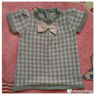 Branded knitted dress 3-6 mos