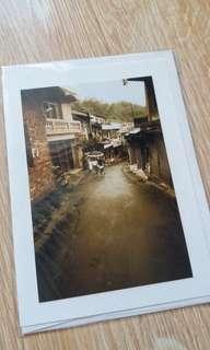 台灣十份postcard