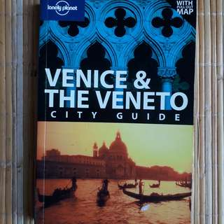 Lonely Planet Venice Travel Guide Book