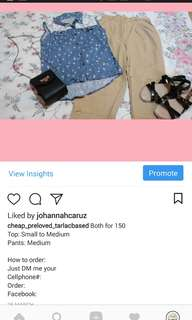 Preloved Clothes Tarlac City Based