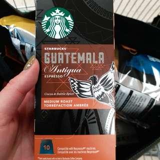 Starbucks glutemala espresso capsule