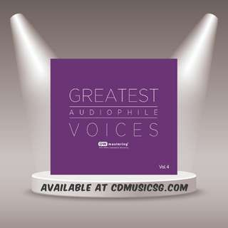 🚚 [Jazz] CD Greatest Audiophile Voices Vol.4