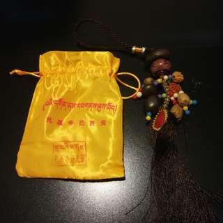西藏札基寺吊飾(已開光)