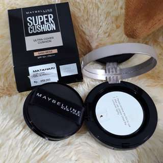 Maybelline super cushion ultra cover spf 50 sand beige 99,99% new