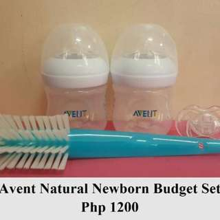 Avent Natural 4oz with Brush