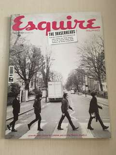 Esquire September 2014: The Eraserheads